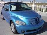 2008 Surf Blue Pearl Chrysler PT Cruiser Touring Convertible #3413843