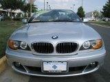 2004 Titanium Silver Metallic BMW 3 Series 325i Convertible #34319721