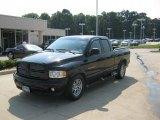 2002 Black Dodge Ram 1500 SLT Quad Cab #34320116