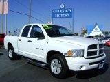 2004 Bright White Dodge Ram 1500 SLT Quad Cab #3421147