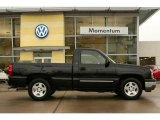 2005 Black Chevrolet Silverado 1500 LS Regular Cab #3425281