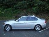 2007 Titanium Silver Metallic BMW 3 Series 335xi Sedan #34320459