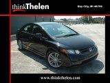 2007 Nighthawk Black Pearl Honda Civic Si Sedan #34356283