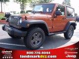 2010 Mango Tango Pearl Jeep Wrangler Sport Mountain Edition 4x4 #34392230