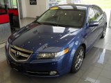 2007 Kinetic Blue Pearl Acura TL 3.5 Type-S #34392719