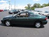 2003 Dark Green Metallic Chevrolet Cavalier Coupe #34392043