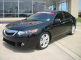 2010 Crystal Black Pearl Acura TSX V6 Sedan #34392484