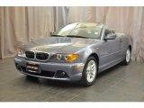 2004 Silver Grey Metallic BMW 3 Series 325i Convertible #34392063