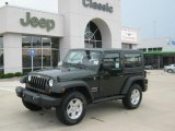 2010 Natural Green Pearl Jeep Wrangler Sport 4x4 #34392519