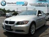 2007 Titanium Silver Metallic BMW 3 Series 335xi Sedan #34392124