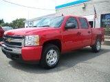 2010 Victory Red Chevrolet Silverado 1500 LT Crew Cab 4x4 #34392128