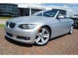 2007 Titanium Silver Metallic BMW 3 Series 335i Convertible #34392545