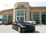 2007 Jet Black BMW 3 Series 335i Convertible #34392814