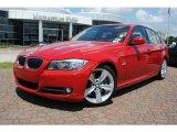 2009 Crimson Red BMW 3 Series 335i Sedan #34392548