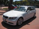 2008 Alpine White BMW 3 Series 328i Wagon #34392137