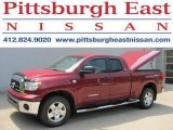 2007 Salsa Red Pearl Toyota Tundra SR5 TRD Double Cab 4x4 #34392557