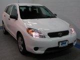 2007 Super White Toyota Matrix  #34392561