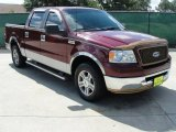 2006 Dark Toreador Red Metallic Ford F150 XLT SuperCrew #34392346
