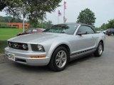 2005 Satin Silver Metallic Ford Mustang V6 Premium Convertible #34392866