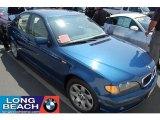 2002 Topaz Blue Metallic BMW 3 Series 325i Sedan #34392359