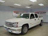 2006 Summit White Chevrolet Silverado 1500 LS Crew Cab #34392884