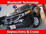 2011 Ebony Black Kia Sorento LX #34392210