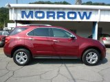 2010 Cardinal Red Metallic Chevrolet Equinox LTZ AWD #34447015