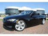2008 Jet Black BMW 3 Series 335i Convertible #34447380