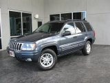 2002 Steel Blue Pearlcoat Jeep Grand Cherokee Laredo 4x4 #34446860
