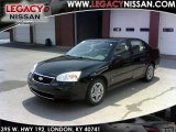 2007 Black Chevrolet Malibu LS V6 Sedan #34446888