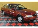 2000 Colorado Red Metallic Volkswagen Passat GLS 1.8T Sedan #34447394