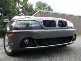 2005 Sparkling Graphite Metallic BMW 3 Series 325i Coupe #34447105
