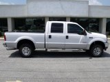 2004 Oxford White Ford F250 Super Duty XLT Crew Cab 4x4 #34447116
