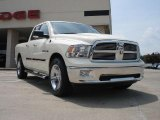 2010 Stone White Dodge Ram 1500 Big Horn Quad Cab 4x4 #34447452
