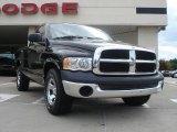 2005 Black Dodge Ram 1500 ST Regular Cab #34447455