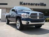 2007 Patriot Blue Pearl Dodge Ram 1500 ST Quad Cab 4x4 #34447457