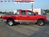 2003 Flame Red Dodge Ram 1500 SLT Quad Cab 4x4 #34447489