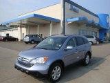 2009 Glacier Blue Metallic Honda CR-V EX-L 4WD #34447759