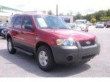 2006 Redfire Metallic Ford Escape XLS #34447203