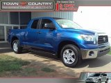 2007 Blue Streak Metallic Toyota Tundra SR5 Double Cab 4x4 #34513889