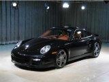 2007 Basalt Black Metallic Porsche 911 Turbo Coupe #34513159