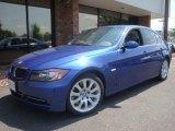 2007 Montego Blue Metallic BMW 3 Series 335i Sedan #34513410