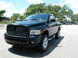 2003 Black Dodge Ram 1500 ST Regular Cab 4x4 #34513414