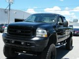 2003 Black Ford F250 Super Duty FX4 SuperCab 4x4 #34513415