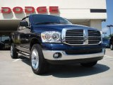 2008 Patriot Blue Pearl Dodge Ram 1500 Big Horn Edition Quad Cab 4x4 #34513901