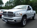 2008 Bright Silver Metallic Dodge Ram 1500 Big Horn Edition Quad Cab 4x4 #34513694