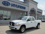 2006 Bright White Dodge Ram 1500 SLT Quad Cab 4x4 #34513454
