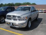 2010 Light Graystone Pearl Dodge Ram 1500 Big Horn Quad Cab 4x4 #34513978