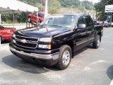 2007 Black Chevrolet Silverado 1500 Classic LS Crew Cab 4x4 #34513255