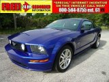 2005 Sonic Blue Metallic Ford Mustang GT Premium Coupe #34514097